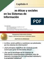 Aspectos Eticos en Los Sistemas de Informacion