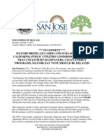 10.9.18 Mayors Oak SF SJ Statement on CPUC Exit Fee(1)