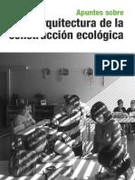 Arq. construcción ecológica