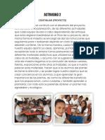 actividades proyecto ecologia
