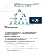 Packet Tracer - Identificação de Endereços MAC e IP.docx