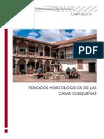 Periodos Morfológicos de Las Casas Cusqueñas