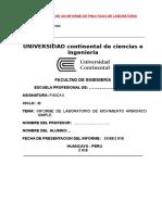 1 Estructura de Informe de Laboratorio
