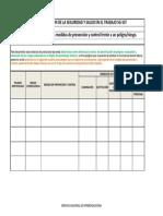 Descargar Formato Matriz de Jerarquización Con Medidas de Prevención y Control Frente a Un PeligroRiesgo.xlsx