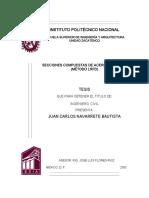 406_SECCIONES COMPUESTAS DE ACERO-CONCRETO (METODO LRFD)  IPN.pdf