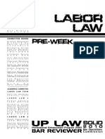Labor Law Preweek 2010