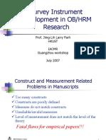 Survey Research 1