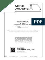 Manual de Servicio Barko 80