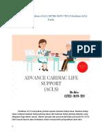 Persyaratan pelatihan ACLS | 08788-9699-789 | Pelatihan ACLS Perki