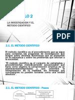 Capitulo 2 La Investigacion y El Metodo Cientifico