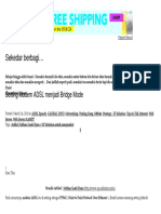 Setting Modem ADSL Menjadi Bridge Mode _ Sekedar Berbagi..