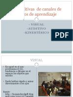 Canales de Aprendizaje PPT