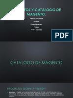 Atributos y Catalogo de Magento