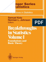 Breakthroughs in Statistics Vol.1 1992