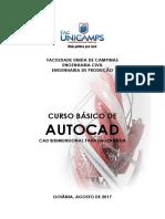 Apostila Autocad Facunicamps 2017 2