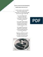 Himno de La Escuela de Educación Básica MARÍA PIEDAD CASTILLO