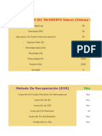Elección de EOR-dependiendo de los parámetros