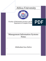 Management Information Systems Notes