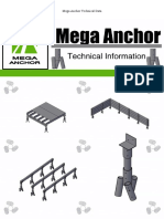 Mega Anchor Technical Information