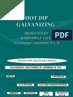 Hot Dip Galvanising