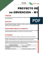 Proyecto de Intervencion - M1 Controla Inventarios de Produccion