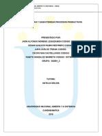 Fase 3- Diseñar y Caracterizar procesos productivos