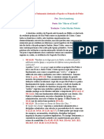 50 Provas do Novo Testamento Atestando o Papado e o Primado de Pedro.doc