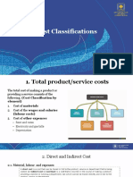 A.3. Cost Classifications