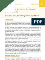 Metabolismo de Calcio, Fosforo y Magnesio