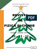Revista de Fizica Si Chimie Nr. 10-11-12 2017