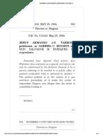 Jesus Armando a.r. Tarrosa, Petitioner, Vs. Gabriel c. Singson and Hon. Salvador m. Enriquez,