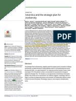 Antarctica and the strategic plan for biodiversity