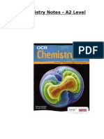 OCR Chemistry Notes