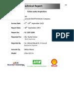 M3 Valve Leak Inspection Report