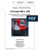 Emco mill250 specif