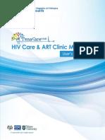 TenaCare_EMR HIVCare  ART Module User's Manual_final.docx