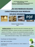 AULA 1 - CLASSIFICAÇÃO DOS RESÍDUOS SÓLIDOS E CARACTERIZAÇÃO DE RESÍDUOS SÓLIDOS ORGÂNICOS (1).pdf