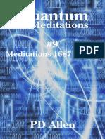 Quantum Meditations #9 - Allen, PD