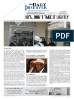 The Daily Observer 28th Print Edition