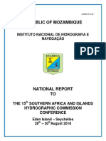 SAIHC 2018 National Report Mozambique
