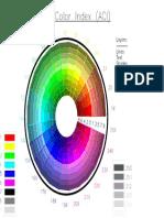 Indice de colores AutoCAD