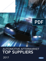 2017 AASA Top Automotive Aftermarket Suppliers List