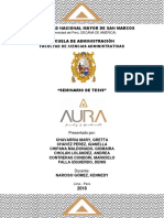 Seminario de Tesis - Joyeria Aura 2.0