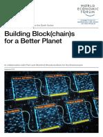 WEF Building Blockchains