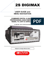 Rover DM12S user manual pdf