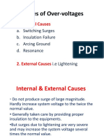 Causes of Over-Voltages (1)