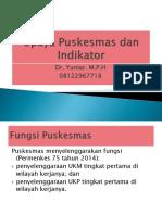 Upaya Puskesmas (Dr Yuniar) 29-3-2017