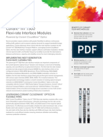 DS HiT 7300 Flexi-rate Interface Modules 74C0119