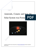 How our Solar System Formed?