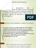 Afinidad Electronica